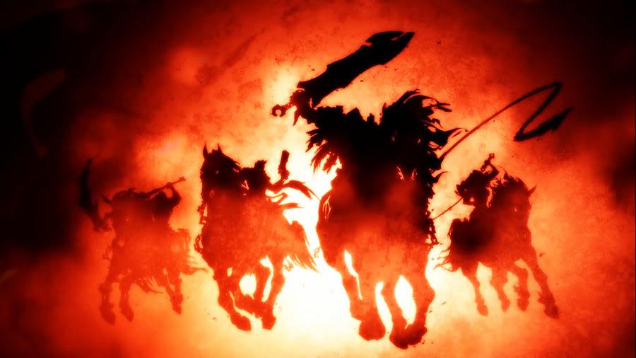 The Four Horsemen By Hibakuska