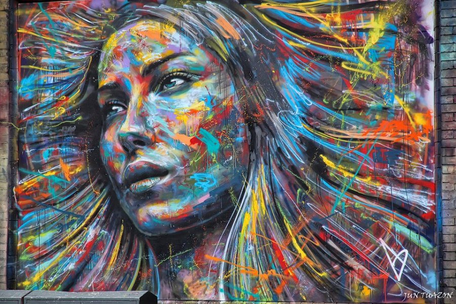 Street Art by David Walker  London, England
