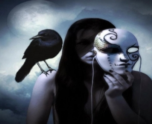 Behind the Mask Dark - Woman